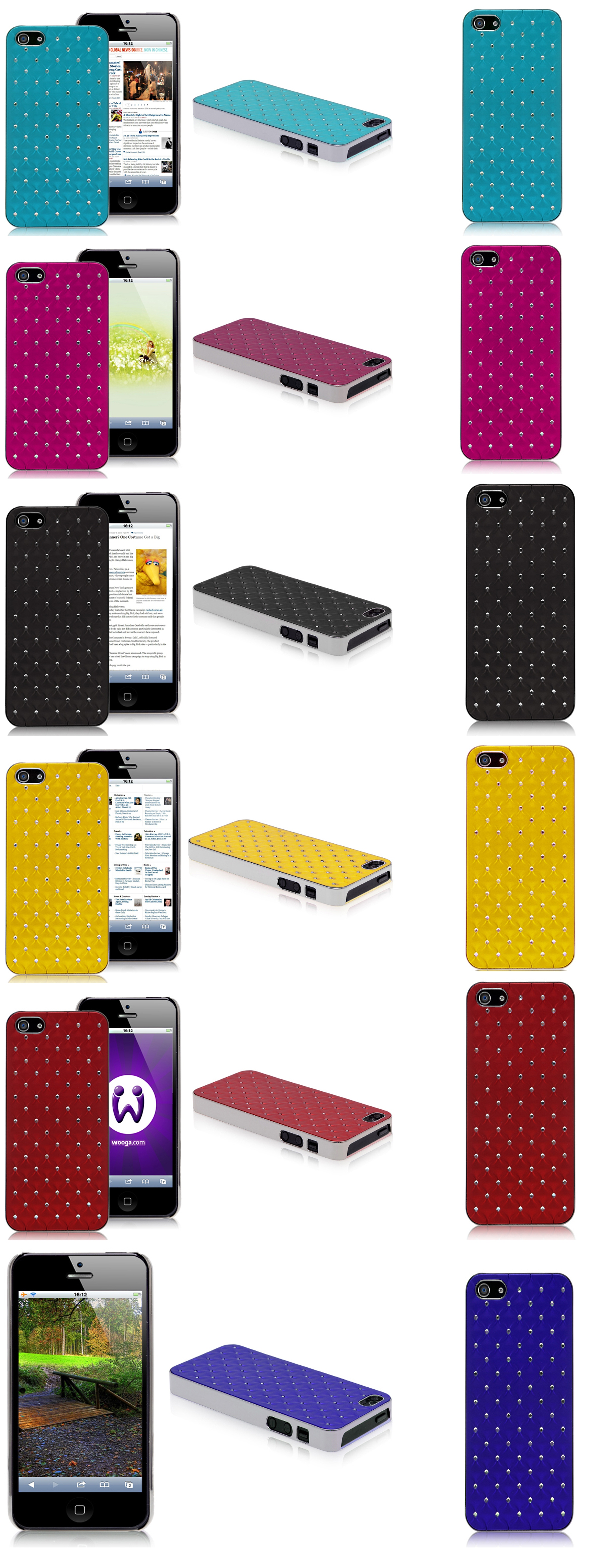 Metal iPhone 5 Cases - Colorful covers for iPhone 5