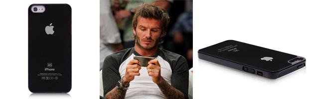 David Beckham iPhone 5 Black Case