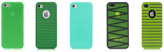 iPhone 5 Green Cases