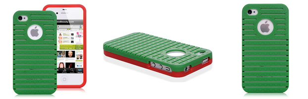 Hard iPhone 4/4S Cases - Green Back Cover