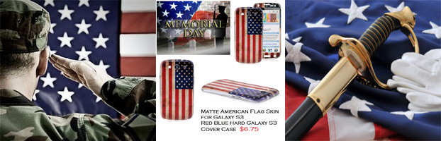 memorial day samsung galaxy s3 cases