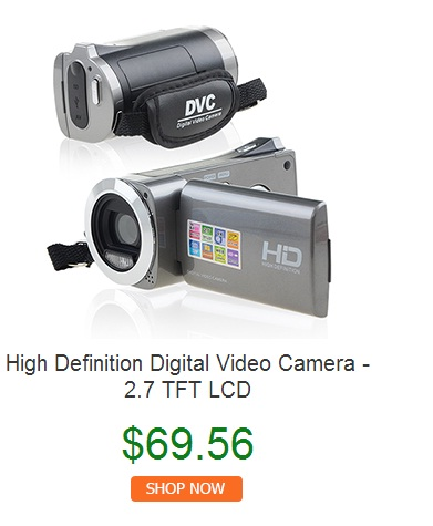 High definition digital video camera