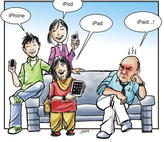 Apple Funny Pic iPad, iPhone, iPod