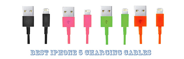iPhone 5 charging cables