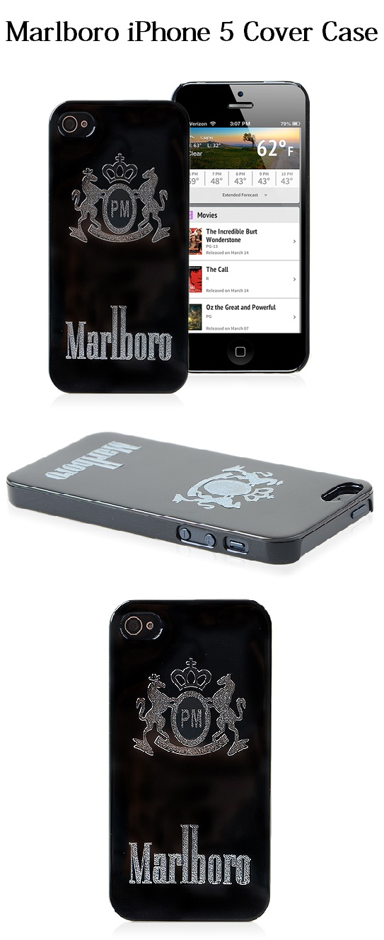 marlboro cover case for apple iphone 5 case