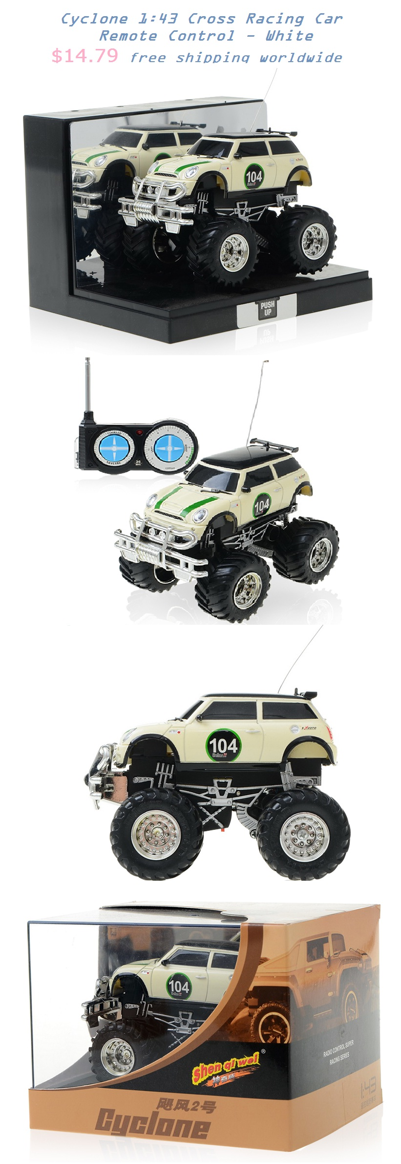 offroad car remote control toy