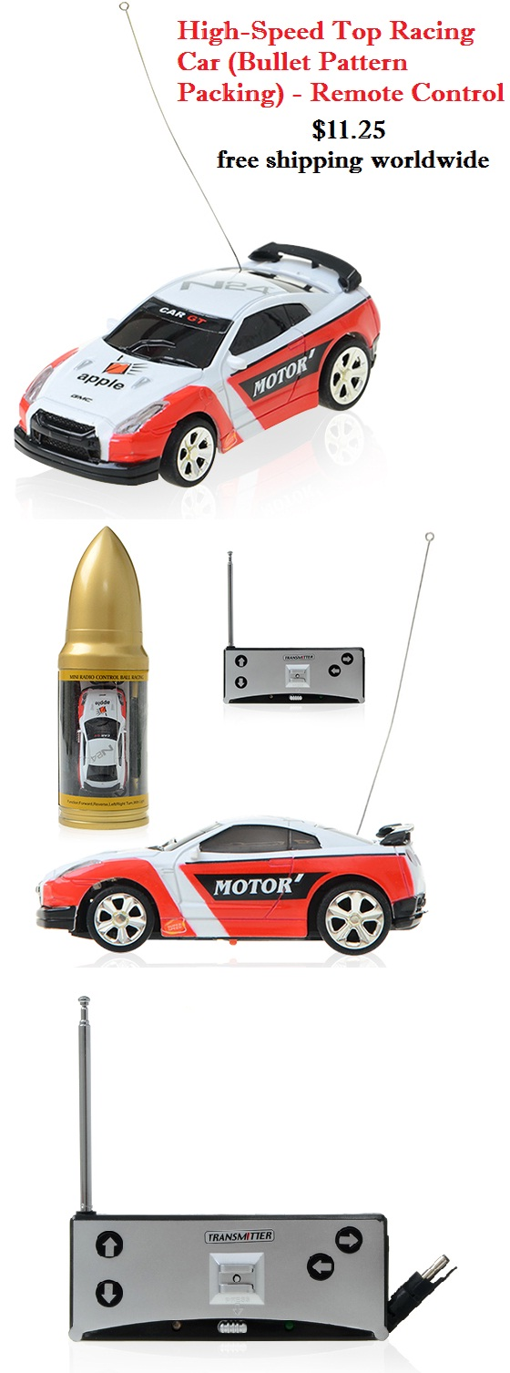 high speed racing car remote control toy