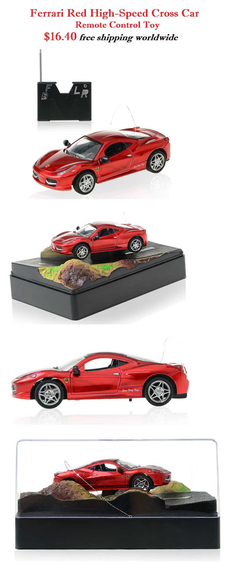 red high speed car remote control