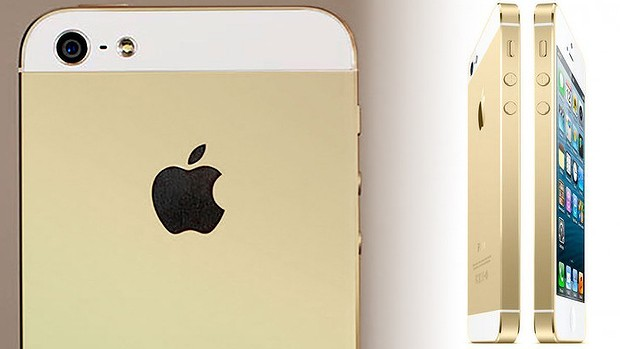 gold new iphone 5