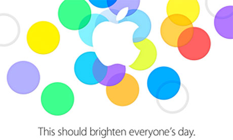 Apple's invitation to its 2013 iPhone event