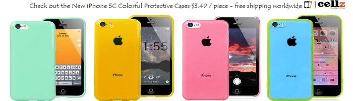 New iPhone 5C Cases