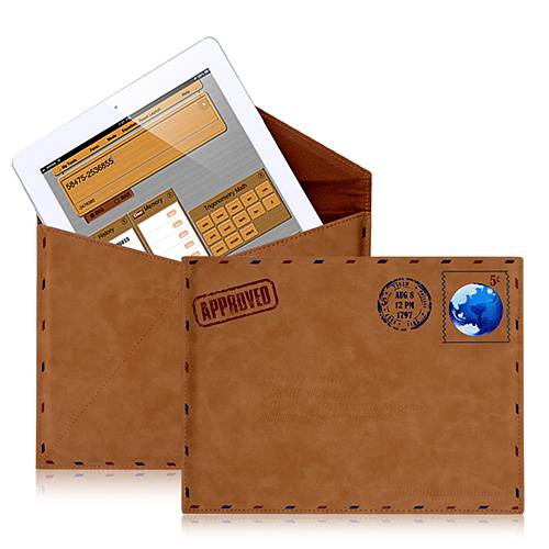 Envelope PU Leather Case For iPad