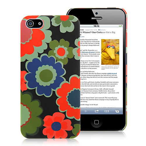 Flower Girly Back Cover For iPhone 5 & 5S