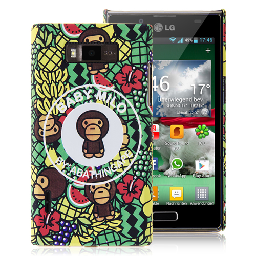 Monkey Hard Back Cover for LG Optimus L7
